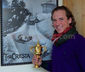 The Heaton Gold Cup at The Cresta Run of the SMTC Saint Moritz Tobogganing Club since 1884/85