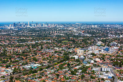 Ashfield to Sydney Skyline