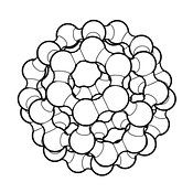 Buckminsterfullerene #11 Outline