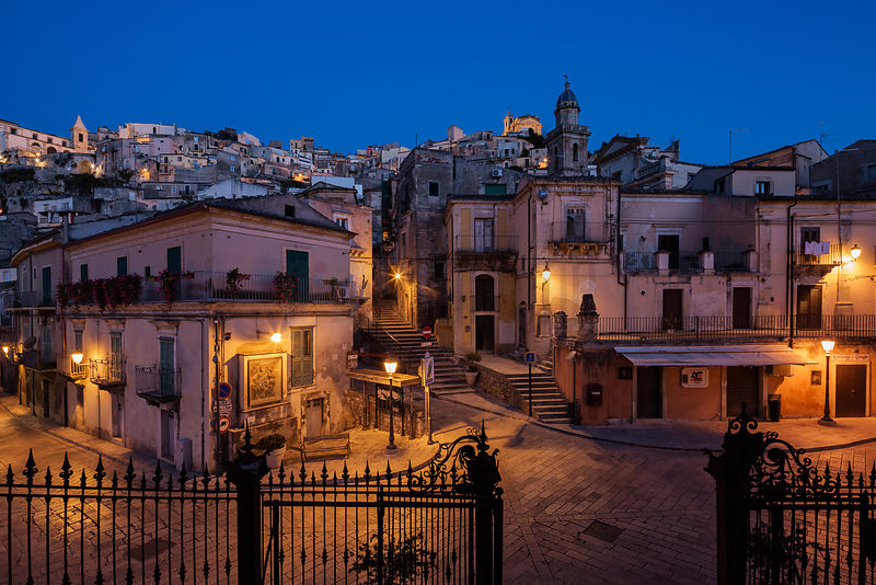 Srteets of Ragusa at Dawn