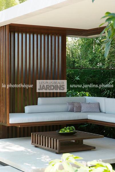 la phototh que les plus beaux jardins salon de jardin contemporain paysagiste david. Black Bedroom Furniture Sets. Home Design Ideas