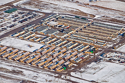 Temporary Housing Community, High River Alberta