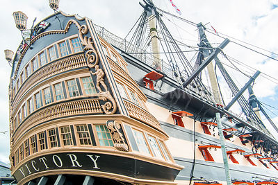 HMS Victory- Portsmouth, England