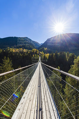 Goms Bridge, bei Bellwald, Goms, Wallis
