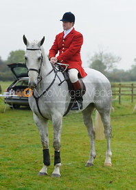 Chris Edwards at the meet - The Cottesmore at Langham.