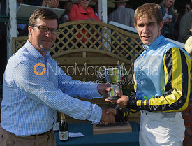 Leading Gentleman jockey Johnny Bailey - Meynell and South Staffs at Garthorpe, 2nd June 2013