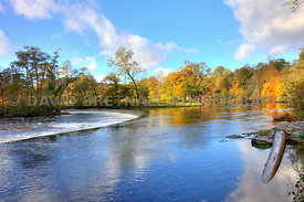 The Horseshoe Falls On The River Dee, Llangollen
