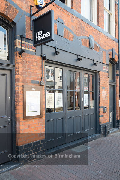 1000 Trades pub, The Jewellery Quarter of Birmingham, England