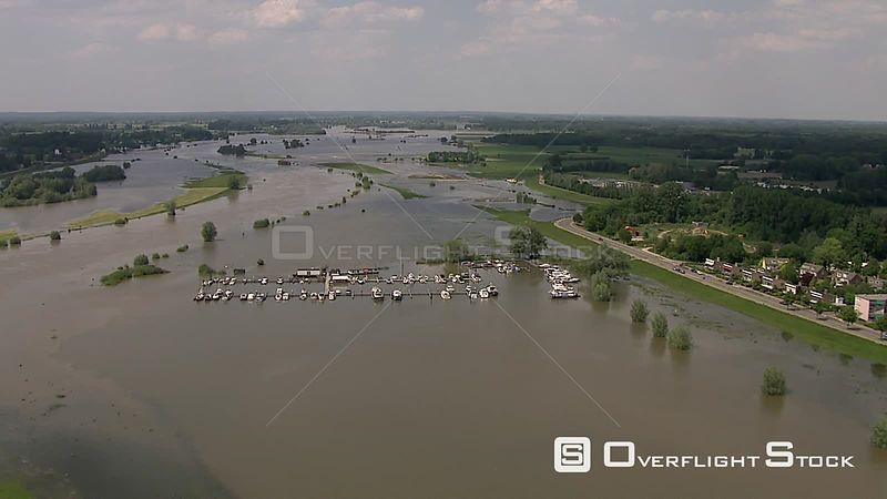 River at IJssel Netherlands