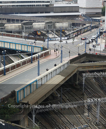 New Street Railway Station, Birmingham City Centre, England
