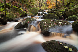 Burbage Brook, Padley Gorge