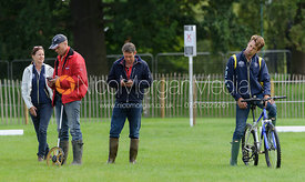 Paul Tapner, Chris Burton, Sam Griffiths  - Burghley 2015