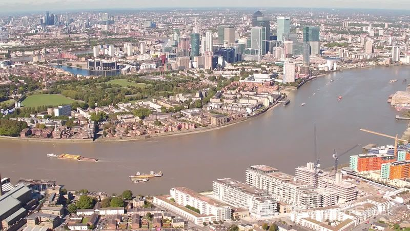 Greenwich, Isle of Dogs and Canary Wharf, London, United-kingdom