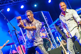 Kool and the Gang liva at Port Adriano