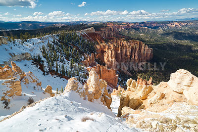 10,000 Feet At Bryce Canyon, Utah