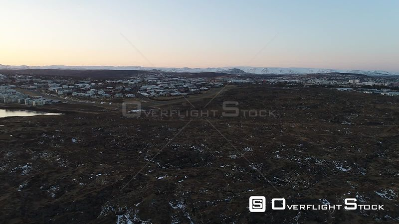 Drone Video Near Reykjavik celand