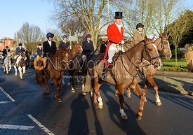 Ian Hendrie - Boxing Day Meet of the Cottesmore Hunt, Oakham 26/12