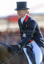 Kristina Cook and MINERS FROLIC - Dressage - Mitsubishi Motors Badminton Horse Trials 2013.