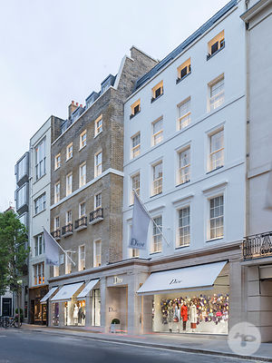 Christian Dior building, New Bond Street, London, UK