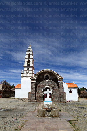 Sanctuary of the Señor de Quillacas, Quillacas, Oruro Department, Bolivia