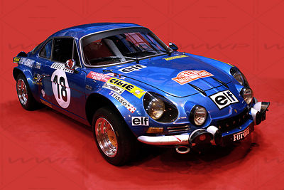 Alpine Renault A110 - 1300 Art Photographs
