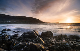 Calgary Bay sunset, Isle of Mull