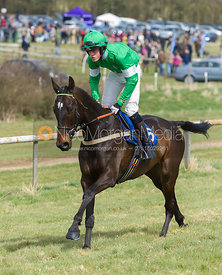 Oliver James (George Henderson), The Members Race - The Quorn at Garthorpe 21st April 2013.