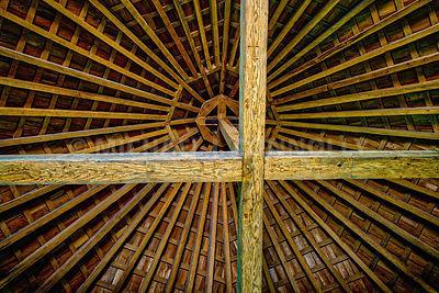 Barn Beams- Mount Vernon, Virginia