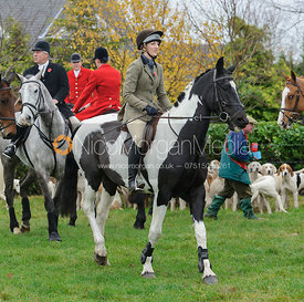 The Quorn Hunt at Barrowcliffe 6/11