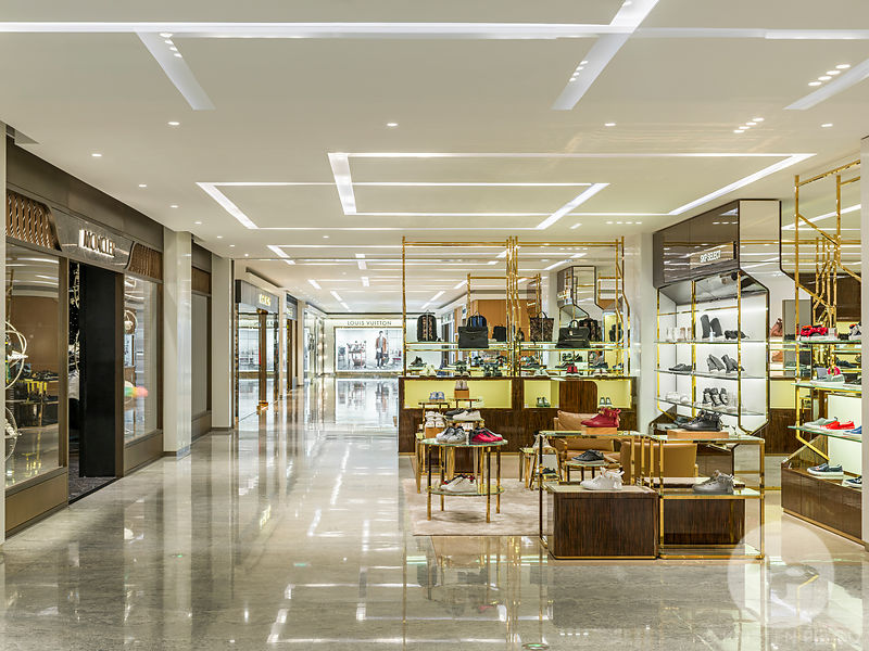 Shin Kong Place interior designed by Syberite  in  Beijing, China.