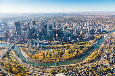 Downtown Calgary, Fall 2017