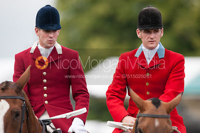 South Notts Hunt at Burghley Horse Trials photos