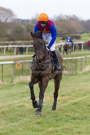 Temar Fais (R Spencer), The Open Maiden - The Quorn at Garthorpe 21st April 2013.