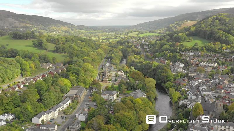 Township of Llangollen Wales UK