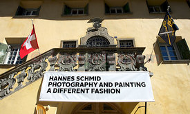 SAM St.Moritz Art Masters 2012 Chesa Planta Zuoz: Hannes SCHMID a different fashion