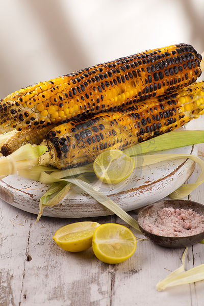 Indian Street Food | Grilled corn