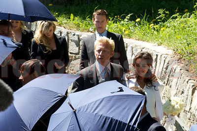 Boris Becker Wedding St.Moritz VIP Guests photos