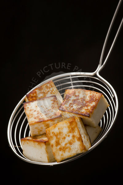 Deep fried indian cottage cheese paneer