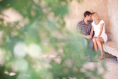 SÉANCE D'ENGAGEMENT EN PROVENCE photos
