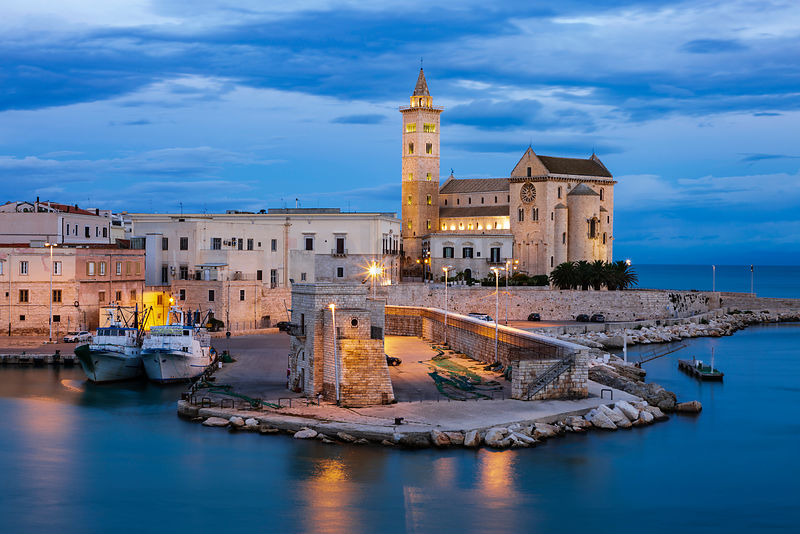 The Harbour at Trani at Dawn