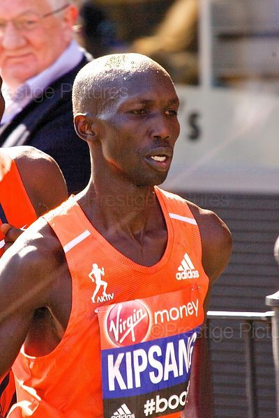 Wilson Kipsang of Kenya won the 2014 London Marathon