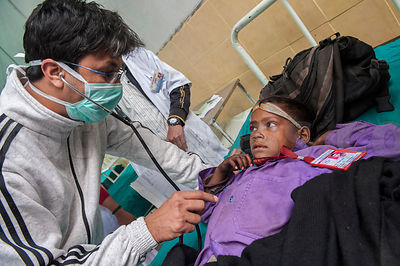 Nepal Jumla Medical Camp Day 1 photos