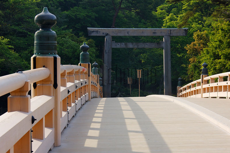 Bridge at the Entrance to a Shrine
