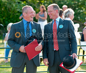 Messrs Joe Townsend and Peter McColgan, Blaston Hound Show 2010