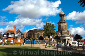 St Chads Church, Shrewsbury
