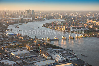 Thames Barrier / Silvertown images