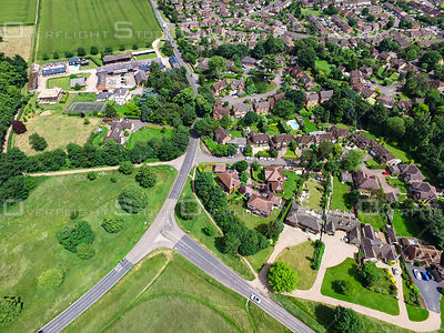 Urban Neighbourhood Pinkey's Green Maidenhead UK