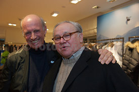 Hubert Burda Official Opening Party of the Willy Bogner Sport and Fashion Shop at the Plaza de Mauritius in Saint Moritz