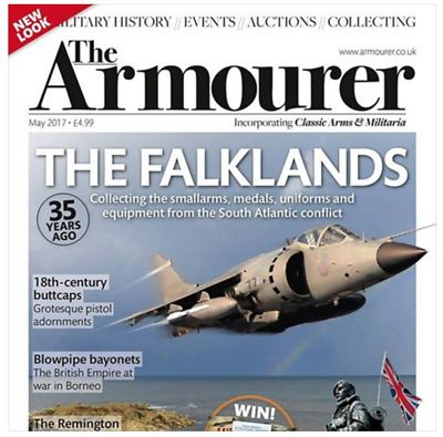 The Armourer magazine, May 2017 edition