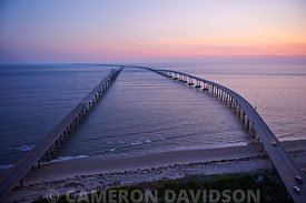 Chesapeake Bay Bridge Tunnel Aerial Photograph